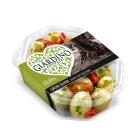 Giardino Antipasti Grüne Oliven Frischkäse